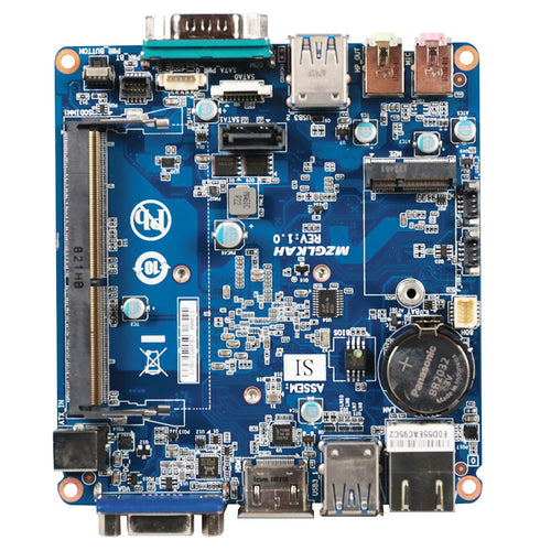 GigaIPC Intel Celeron N4000 Embedded Fanless IPC Motherboard with 1 x COM & 6 x USB