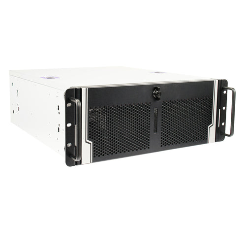 Server Grade Deep Learning DevBox - 4U Rackmount Intel Xeon W Processor, Nvidia GPGPU w/ Dual 10Gb/s LAN preconfigured for CUDA Development, Deep Learning, AI