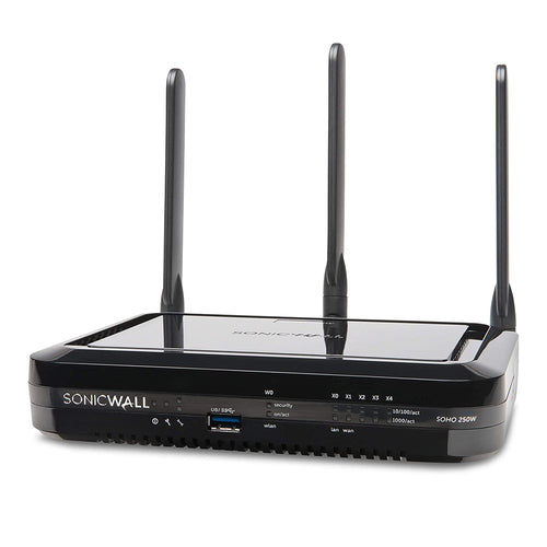 SonicWall SOHO 250 Wireless N Base Firewall