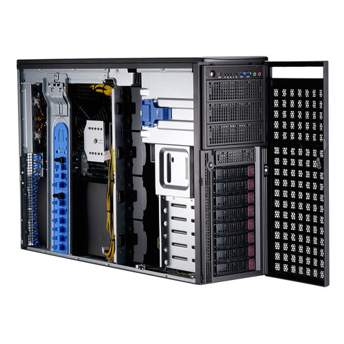 Supermicro GPU Workstation 7049GP-TRT Dual Intel Xeon Scalable Tower, 4 x GPGPU slots