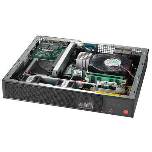 Supermicro SYS-E300-9C 8th/9th Gen Intel Core Mini Server, Triple Display, Dual GbE LAN