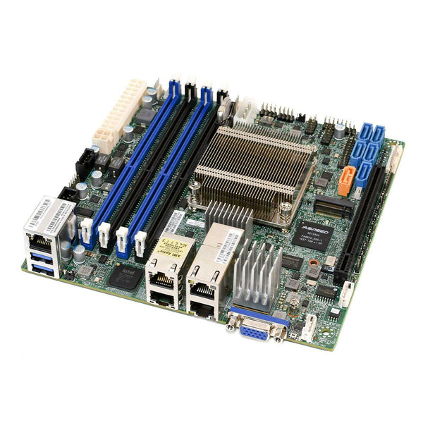 Supermicro X10SDV-4C-TLN4F Intel Xeon D-1518 Quad Core Mini-ITX Motherboard w/ 2x 10GbE LAN, 2x GbE LAN, and IPMI