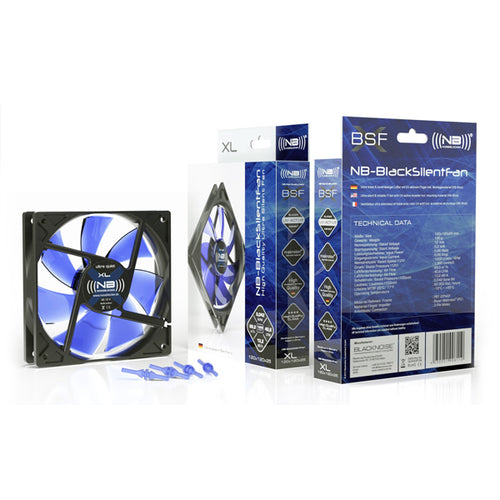 Noiseblocker NB-BlackSilentFan XL-1 120mm, 1000RPM, 40.61CFM, 13.2dBA
