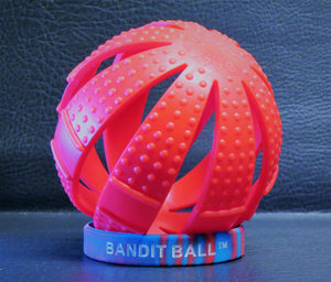 "Here's the 3-in-1 BANDIT BALL in Red or Blue. Find Your Ball with the 10% Discount Code: ""HAVEABALL"" at checkout!"