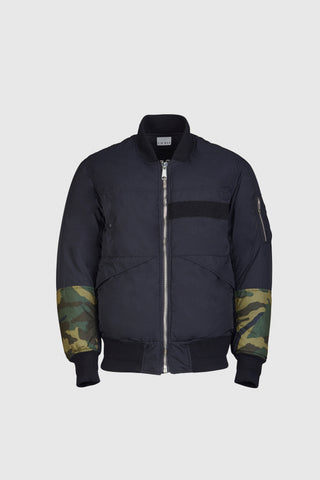 Benway Reversible Bomber - Black