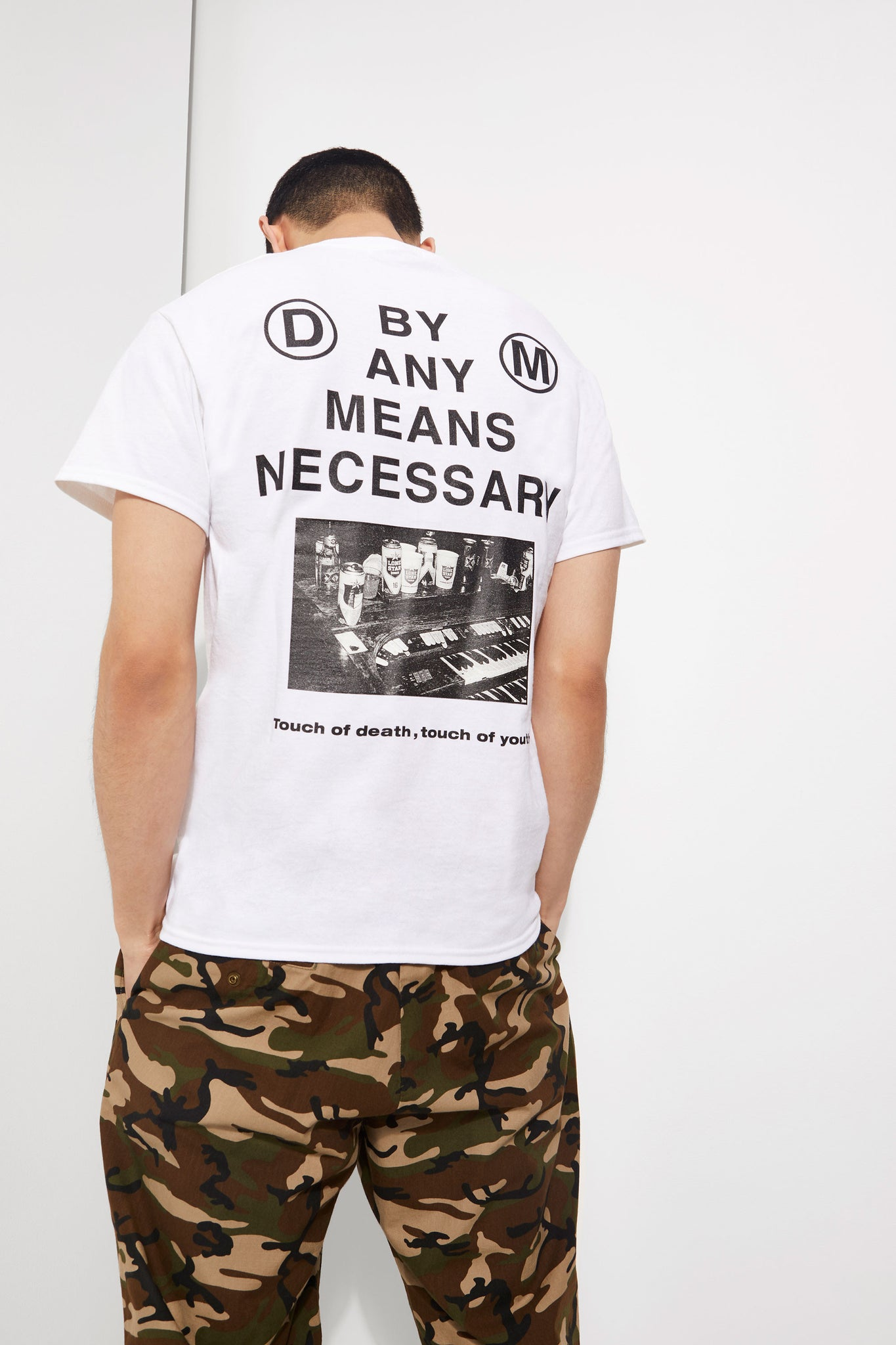 By Any Means Necessary Graphic Tee