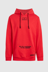 Top Secret Hoodie - Red