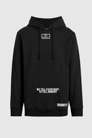 Top Secret Hoodie - Black