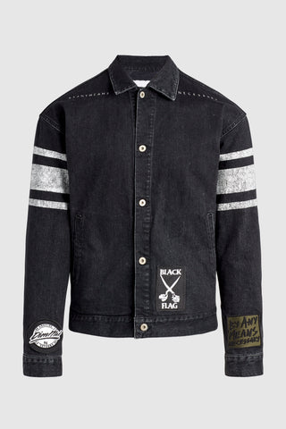 Dim Mak vs. Youth Attack Denim Jacket #13