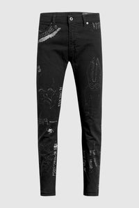 Aoki Fly High Black Jeans #15
