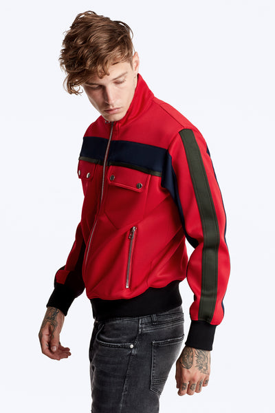 Nadya Track Jacket - Red