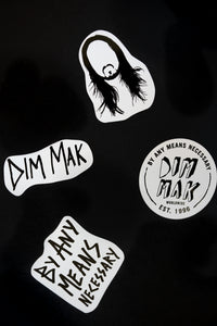 Dim Mak Decal Sheet
