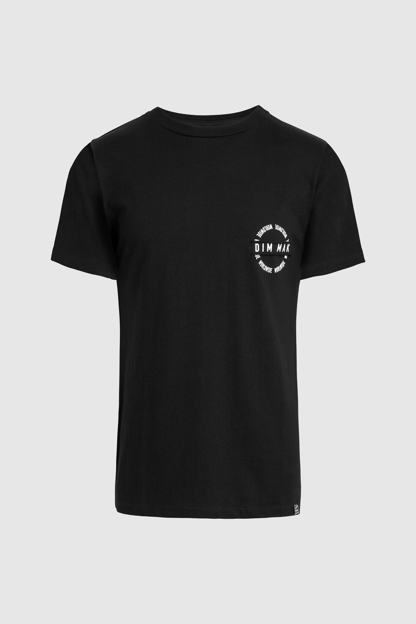 ESSENTIAL SHORT SLEEVE TEE - Black