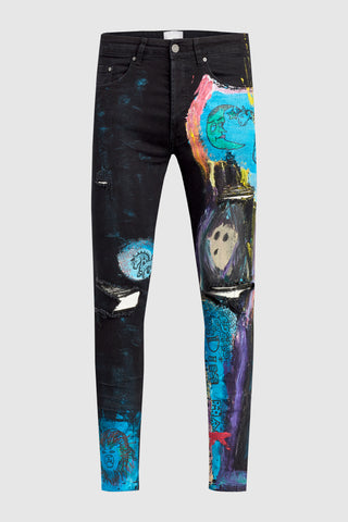Painted Dreamscape Jeans #24