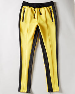 Dragon Track Pants - Yellow