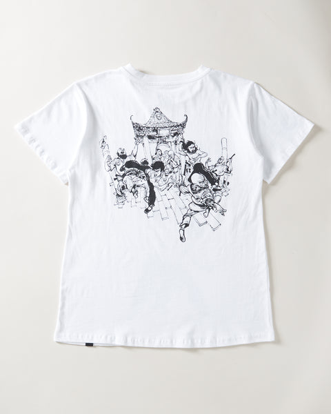 Bruce Lee x Aoki Hero Tee - White