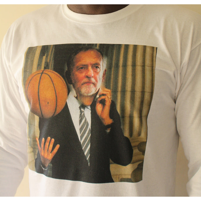 Jeremy Corbyn (basketball) sweatshirt