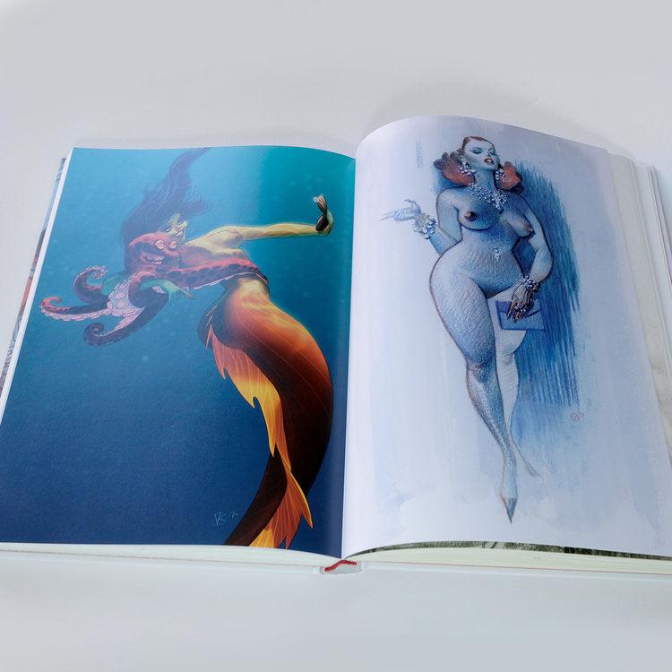INSPIRE - Hard Cover Edition with a personalized drawing