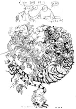 Load image into Gallery viewer, Terada Katsuya + Kim Jung Gi Illustration Book