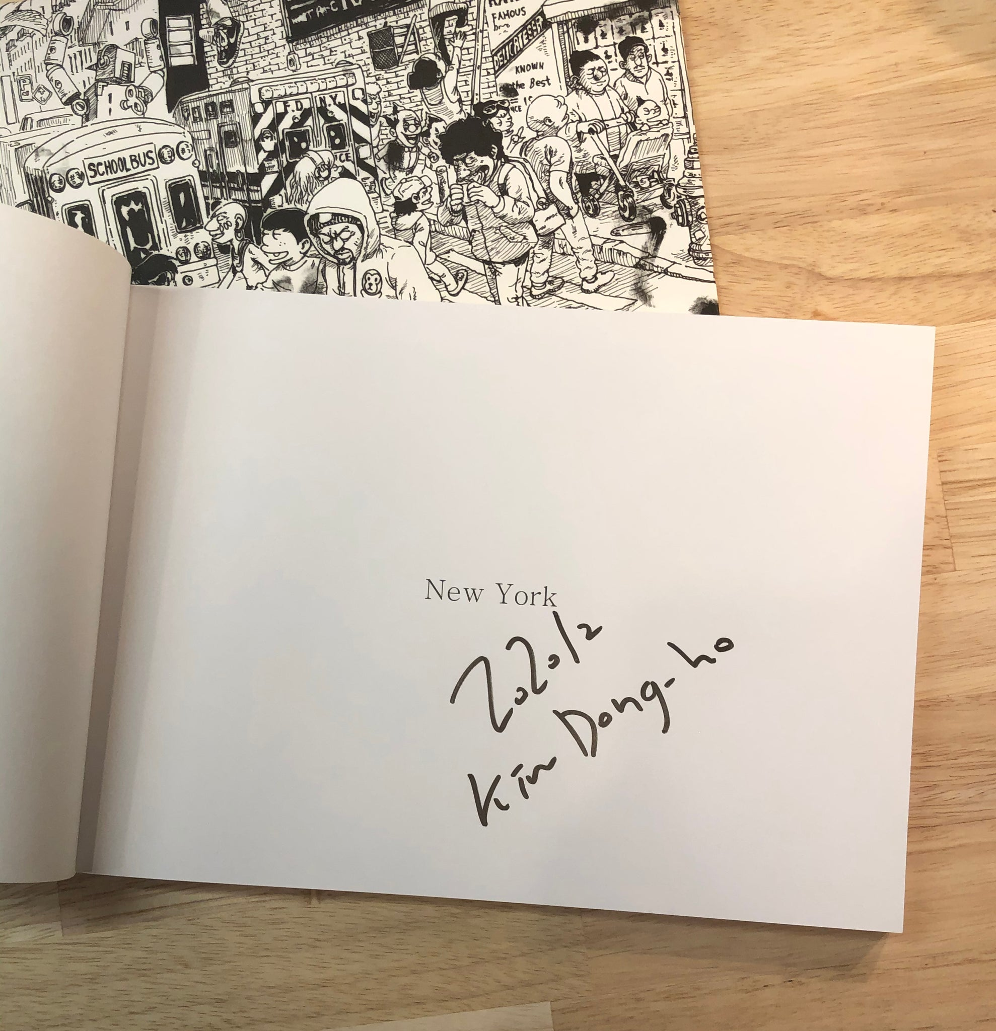 Dongho Kim's New York Sketchbook Collection
