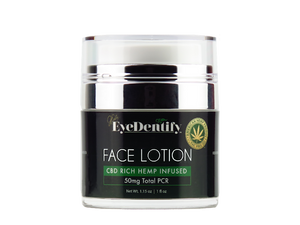 EyeDentify CBD Hemp Face Lotion