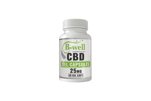 CBD Soft Gel Capsules (25mg, 50mg, 75mg)