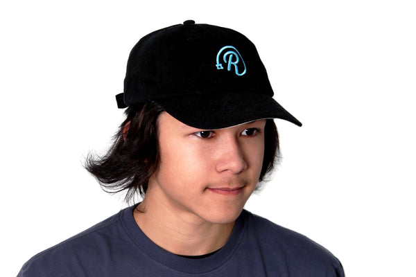 "The ""Dad"" Hat - Teal ""R"""