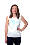 Adult Reset Tank Top - White