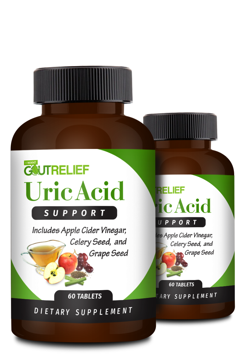 Uric Acid Support - 2 Bottles