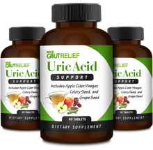 Uric Acid Support - 3 Bottles