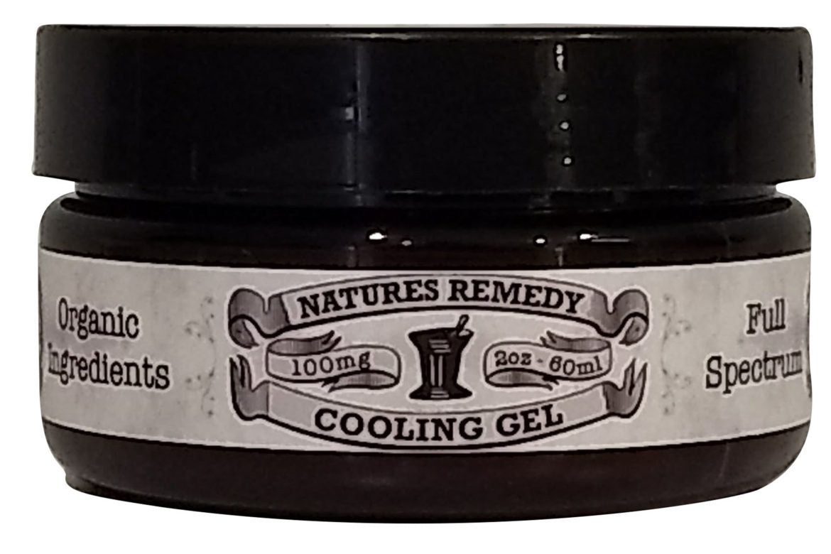 Hemp Extract Cooling Gel (2 oz)