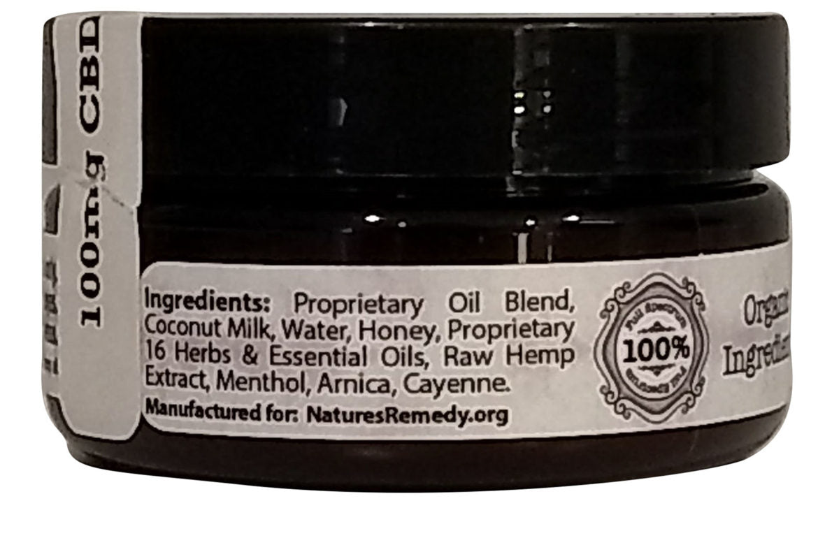 Hemp Extract Natures Remedy Warming Lotion