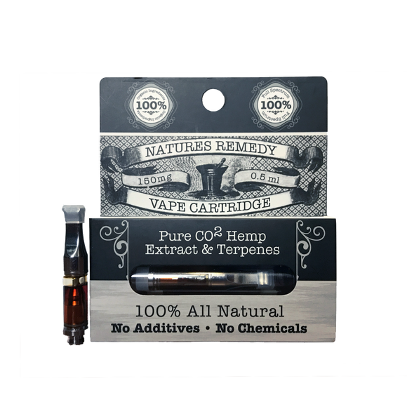 Natures Remedy Vape Cartridge Hemp Extract & Terpenes