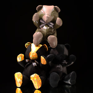 "All Leather Teddy Bear (12"")"