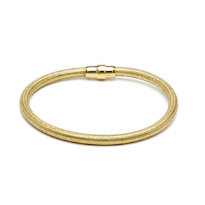 Durrah Jewelry Gold Silk Bracelet