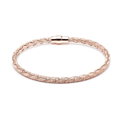 Durrah Jewelry Rose Woven Bracelet For Her