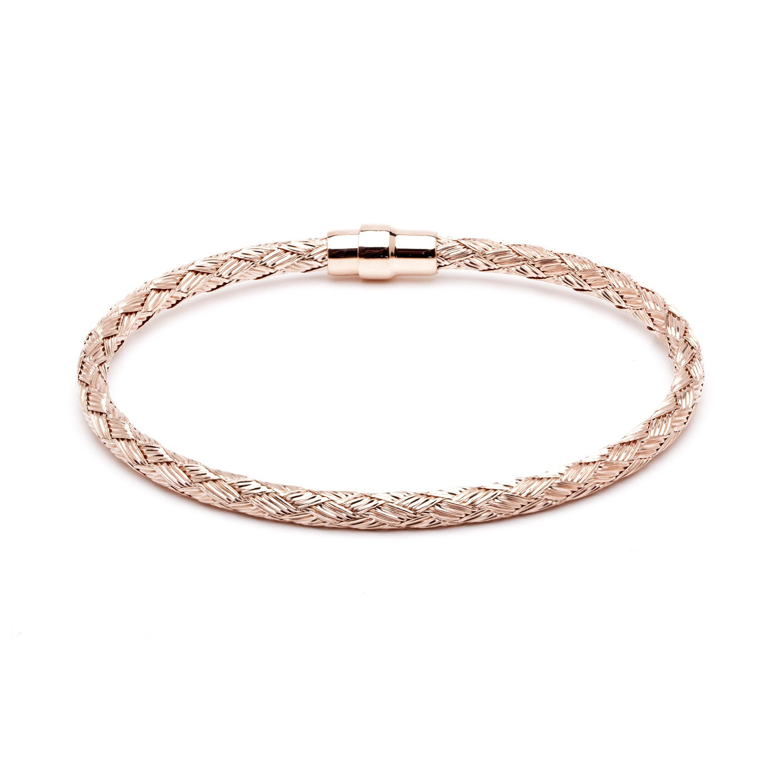 Durrah Jewelry Rose Woven Bracelet For Him