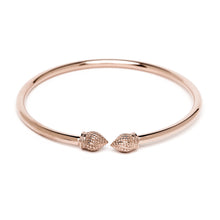 Durrah Jewelry Rose Cylinder Bangle