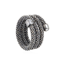 Durrah Jewelry Graphite Spring Ring