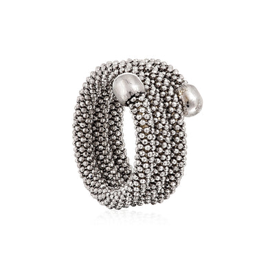 Durrah Jewelry Silver Spring Ring