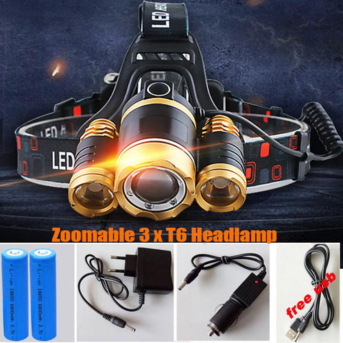 12000LM LED Headlamp Headlight-Your Outdoor Club
