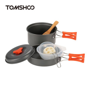 6pcs Camping Cookware Set-Your Outdoor Club