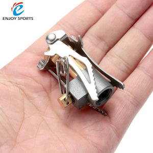 Folding Mini Camping Stove Burner-Your Outdoor Club