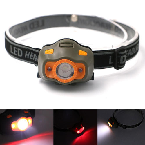 LED Headlight with Red Light Mode-Your Outdoor Club