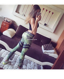 Mermaid Curve Yoga & Fitness Leggings-Your Outdoor Club