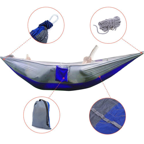 Sleeping Hammock with Mosquito Net-Your Outdoor Club