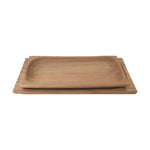 RECTANGULAR TEAK SERVING TRAY