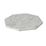 WHITE MARBLE OCTAGONAL TRAY