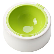 FelliP Lime Kaleido Cat Bowl
