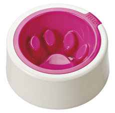 FelliP Fuchsia Kaleido Good Manners Cat Bowl